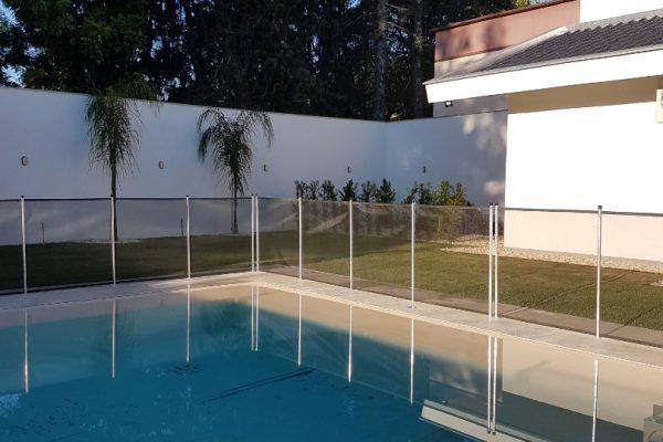 Cerca de proteção para piscina - Clientelas Curitiba