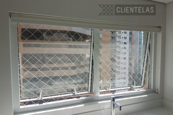 Rede de proteção para janelas - Clientelas Curitiba